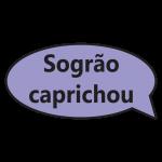 Sogrão Caprichou